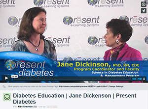 Diabetes Education - Jane Dickenson