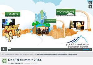 Residency Education Summit 2014