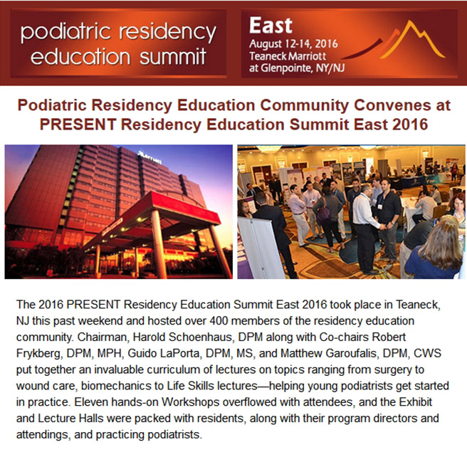 Residency Education Summit 2016