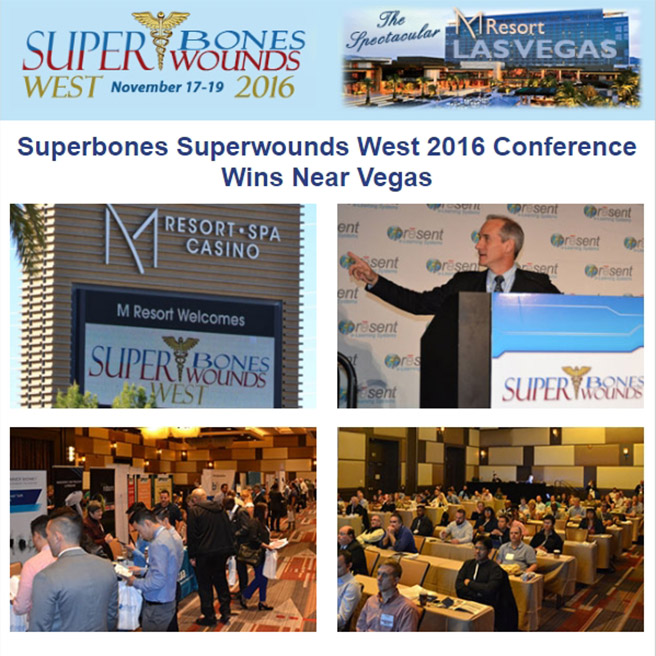 Superbones Superwounds West 2016